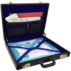 Masonic Royal Arch MM/WM and Provincial Full Dress Apron Briefcase