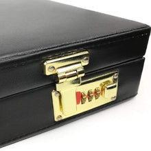 Load image into Gallery viewer, Masonic Regalia MM/WM and Provincial Past Master Apron Briefcase with Yellow Embroidery