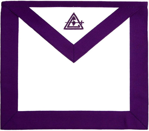 Masonic Council Royal & Select Master RSM Member Apron