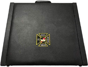 Masonic Regalia MM/WM and Provincial Apron Briefcase with Knights Templar Emblem
