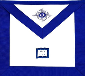 Masonic Blue Lodge Officers Aprons Variations - Set of 19