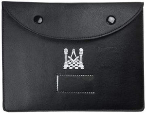 Masonic Regalia Pocket Jewel Holder / Wallet masonic Carry Case X Large