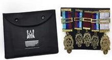 Load image into Gallery viewer, Masonic Regalia Pocket Jewel Holder / Wallet masonic Carry Case X Large