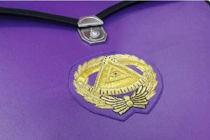Masonic MM/WM and Provincial Full Dress Grand Master Purple Cases II