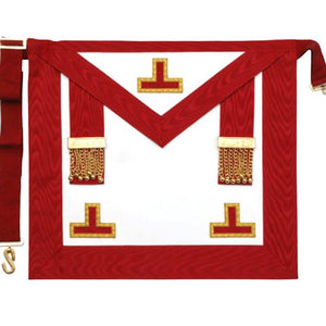 Masonic Scottish Rite AASR Worshipful Master Apron - Regalialodge