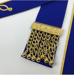 Masonic Craft Provincial Undress Apron and Collar with Gloves