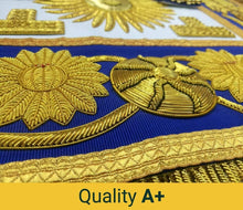 Load image into Gallery viewer, Deluxe Masonic Past Grand Master Apron Grand Lodge