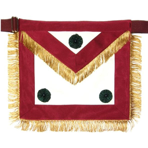 Knight Mason Apron Past Excellent Maroon - Regalialodge