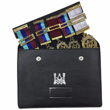 Load image into Gallery viewer, Masonic Regalia Pocket Jewel Holder / Wallet masonic Carry Case X Large - Regalialodge