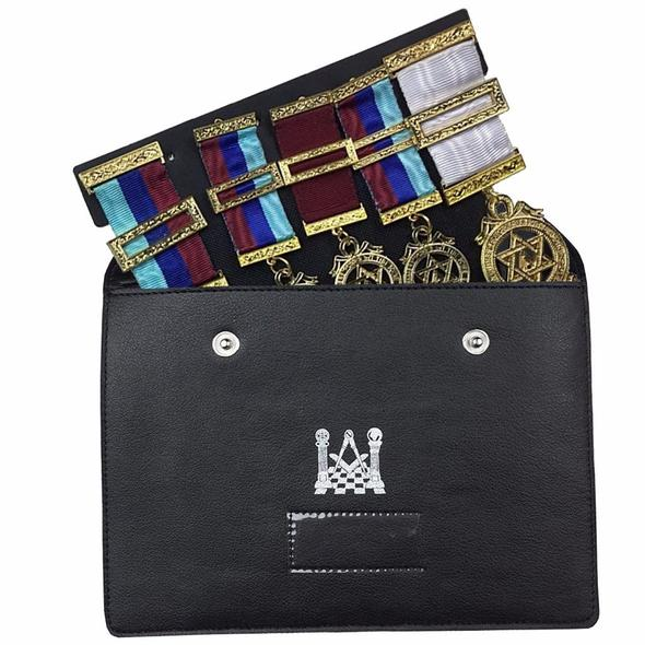 Masonic Regalia Pocket Jewel Holder / Wallet masonic Carry Case X Large - Regalialodge