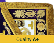Load image into Gallery viewer, Deluxe Masonic Grand Master Apron Grand Lodge