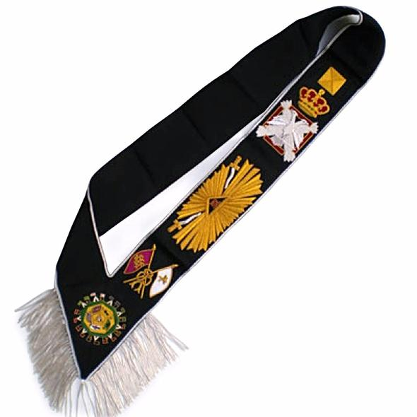 Masonic Rose Croix Sash - AASR - 32nd degree - Regalialodge