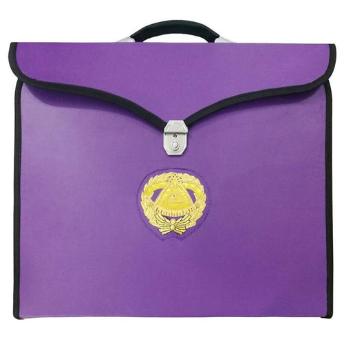 Masonic MM/WM and Provincial Full Dress Grand Master Purple Cases II - Regalialodge