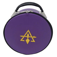 Charger l'image dans la galerie, Cryptic Royal & Select Masonic Hat/Cap Case Purple - Regalialodge