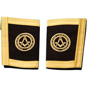 The Sovereign Grand Lodge Of Malta - Grand Officer - SGLOM Gauntlets Cuffs - Regalialodge