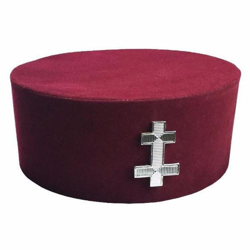 Masonic Knight Templar KT Perceptor Cap/Hat - Regalialodge