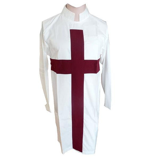 Knights Templar Priests Tunic - Regalialodge