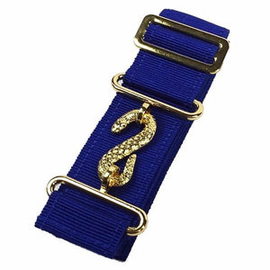 Masonic Belt Extender Blue - Regalialodge