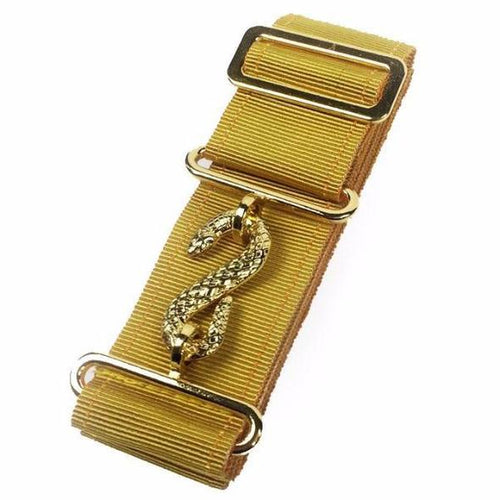 Masonic Belt Extender Mustard - Regalialodge