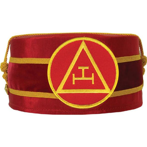 Royal Arch Masonic Triple Tau Cap Red - Regalialodge