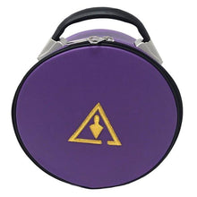 Load image into Gallery viewer, Royal & Select Cryptic Masonic Hat/Cap Case Purple - Regalialodge
