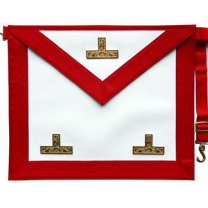 Masonic Scottish Rite AASR Master Apron - Regalialodge