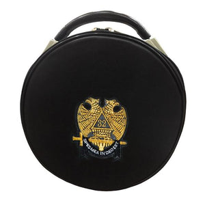 Masonic Scottish Rite Double-Eagle 32 Degrees Hat/Cap Case - Regalialodge