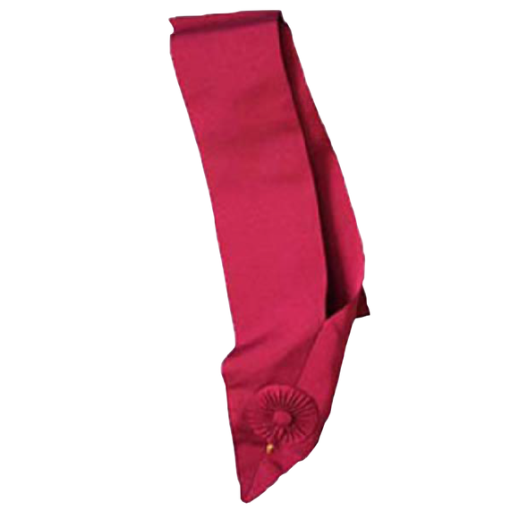 Royal Order of Scotland Sash / Cordon - Crimson - Regalialodge