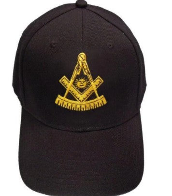 Past Master Masonic Baseball Cap