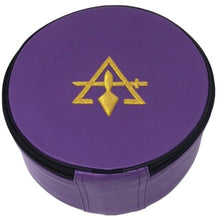 Charger l'image dans la galerie, Cryptic Royal & Select Masonic Hat/Cap Case Purple