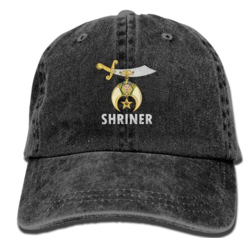 Shriner Adjustable Baseball Cap