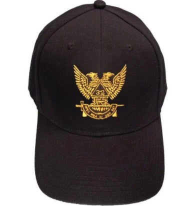 Scottish Rite Wings UP 32nd degree Masonic Baseball Cap