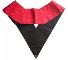 Load image into Gallery viewer, Masonic Officer's collar - AASR - 18th degree - Knight Rose Croix - Croix pattée
