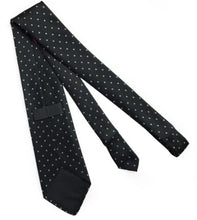 Load image into Gallery viewer, Masonic 100% silk Rose Croix polkadot Tie with Logo
