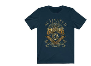 Activated by Light Masonic T-Shirt