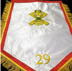29th Degree Scottish Rite 2'x3' Masonic Banner