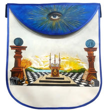 Load image into Gallery viewer, Custom Hand-Painted Scottish Rite Masonic Apron