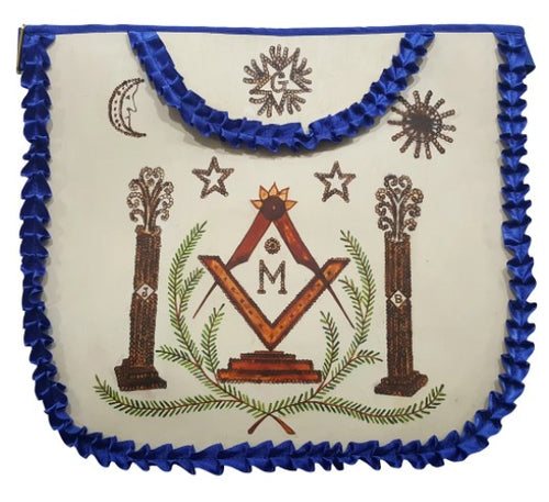 History Edition: Masonic Apron of Major William Christy - 1790 to 1837