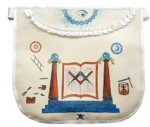 History Edition: Masonic Apron of Meriwether Lewis - 18th Century