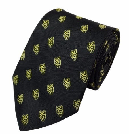 High Quality Masonic Acacia Leaf Tie