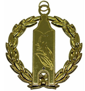 Masonic Collar Grand Lodge Jewel - Junior Warden