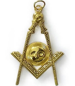 Masonic Gold Collar Jewel - Senior Deacon