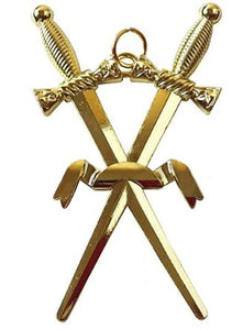 Masonic Gold Jewel - Inner Guard / Inside Sentinel