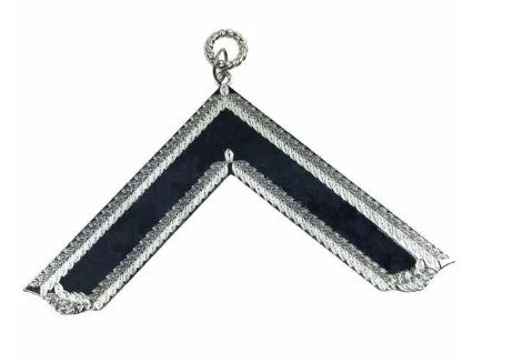Masonic Craft Lodge Officer Collar Jewel Silver - Worshipful Master