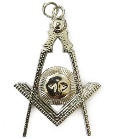 Masonic Collar Silver Jewel - Senior Deacon
