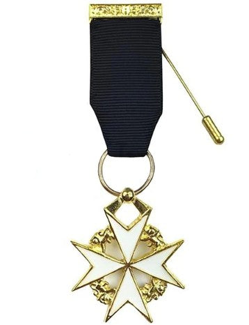 Masonic Knight of Malta Breast Jewel