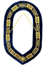 Load image into Gallery viewer, Grand Lodge - Chain Collar - Gold/Silver on Blue + Free Case