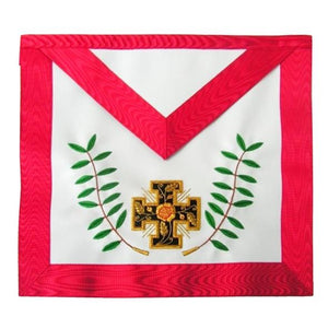 Masonic AASR - 18th degree - Knight Rose-Croix - Patted cross + acacia twigs - Regalialodge