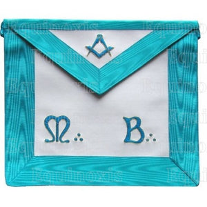 Groussier French Rite – Master Mason – Square-and-compass + lambskin - Regalialodge