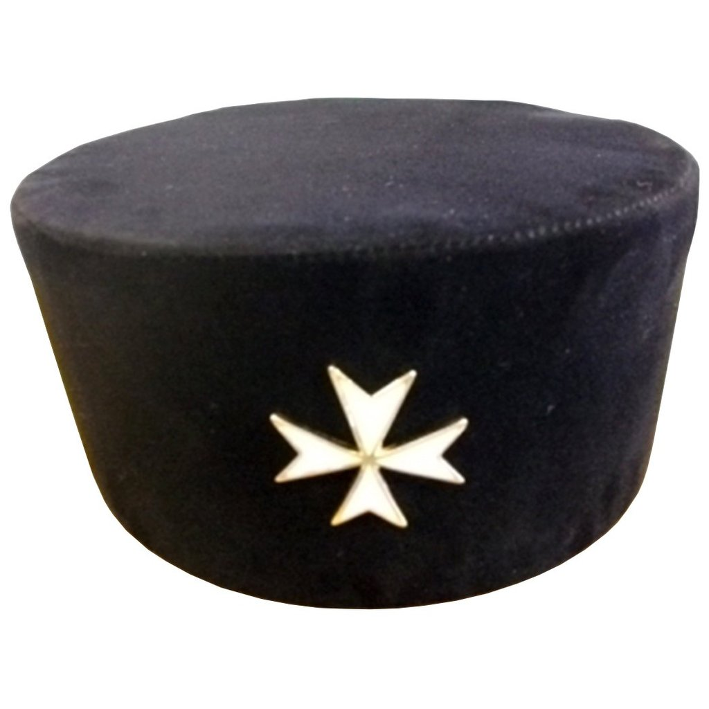 Knights of Malta - Knights Cap with Badge - Regalialodge